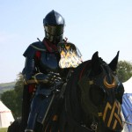 destrier jousting team black knight