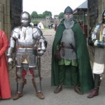 Cardiff Castle Garrison at gate