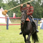 destrier jousting team single rider